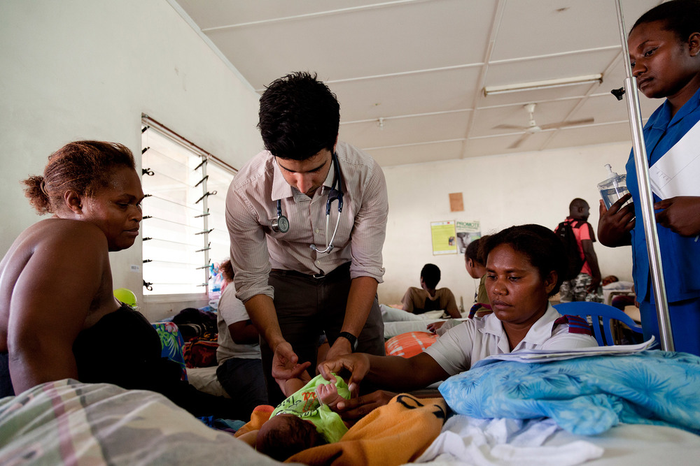 Paediatrics in the Solomon Islands