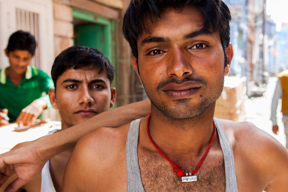 Street Portrait in Jodhpur
