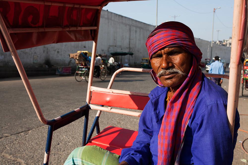 Delhi Tuk Tuk Driver