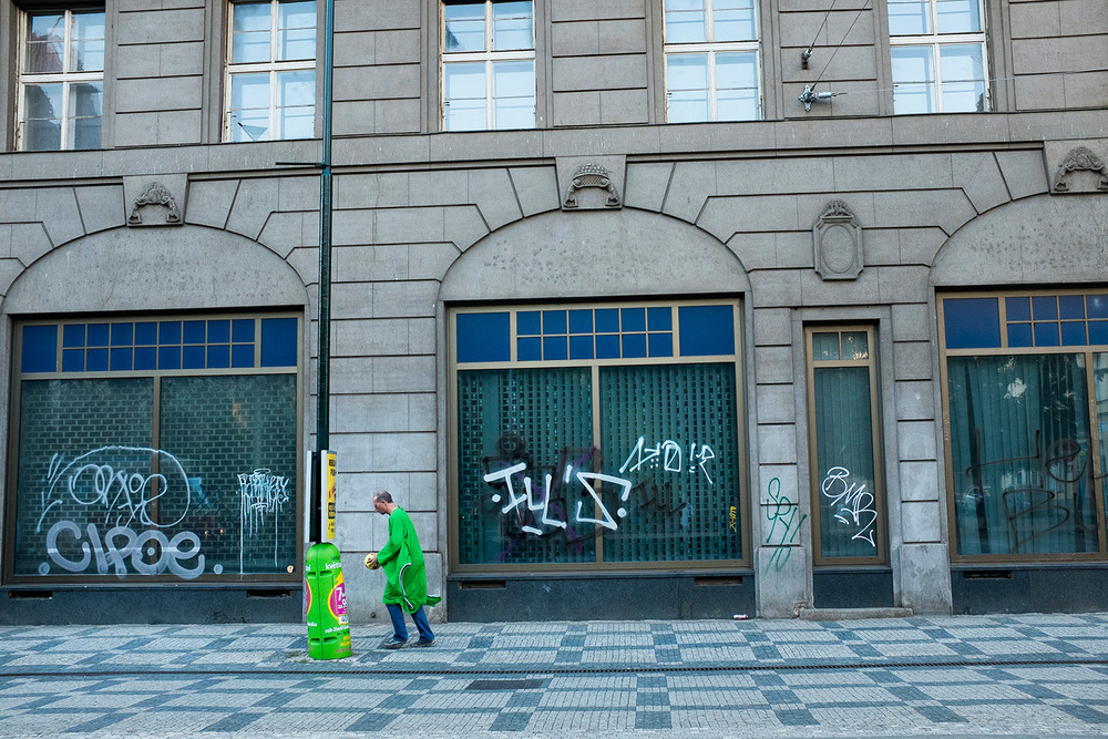 Polish Street Scene