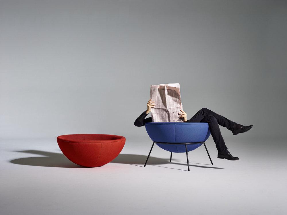 Bardiu0027s Bowl Chair & Bardiu0027s Bowl Chair u2014 Kontorrama