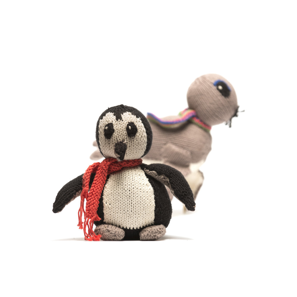 Penguin and Seal