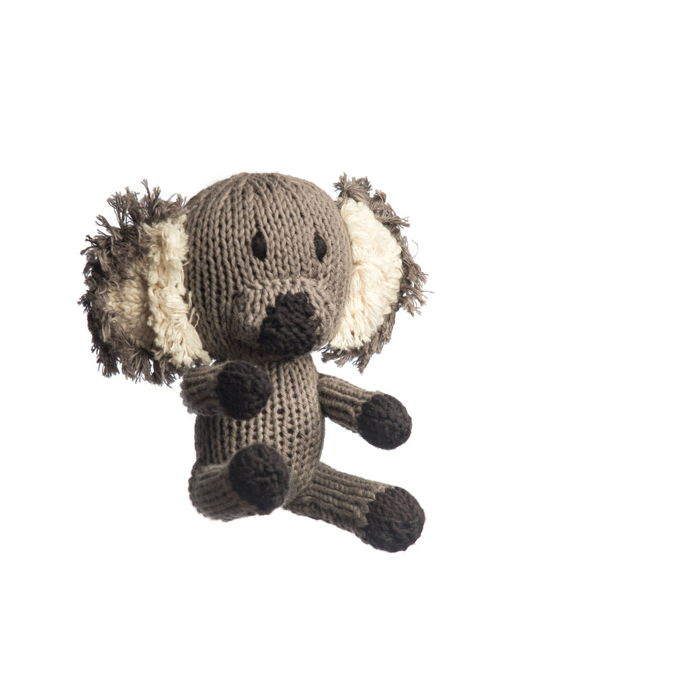 Organic Cotton Rascal Koala - 12 cm tall