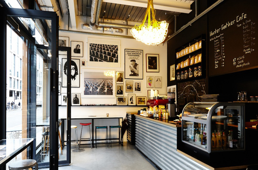 Huntergather café, Marylebone - London