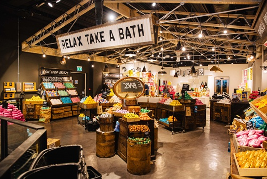 Lush flagship, Oxford Street - London