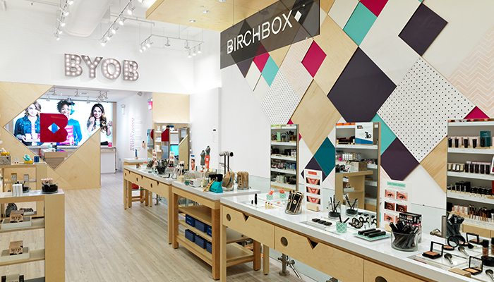 Birchbox store, Soho - New York