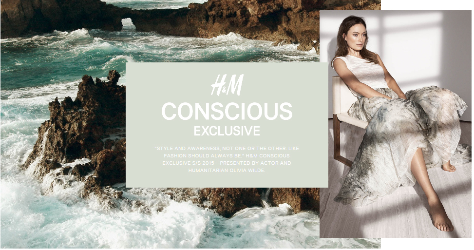 H&M Conscious Exclusive Collection S/S 2015 featuring Olivia Wilde
