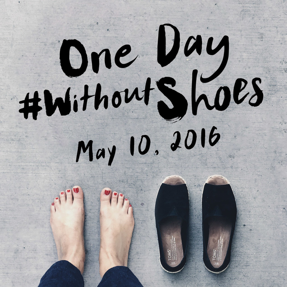 Toms 'Without Shoes' campaign was given a selfie spin and created a simple and cost-free way for followers to give.