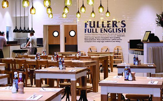 A Fullers experience airside at Heathrow T2