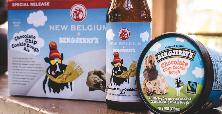 Ben & Jerry's x Belgium Brewing 'Chocolate Chip Cookie Dough Ale'