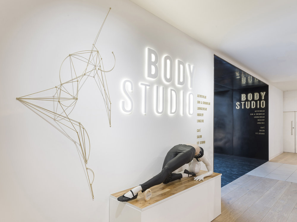 Selfridges body studio