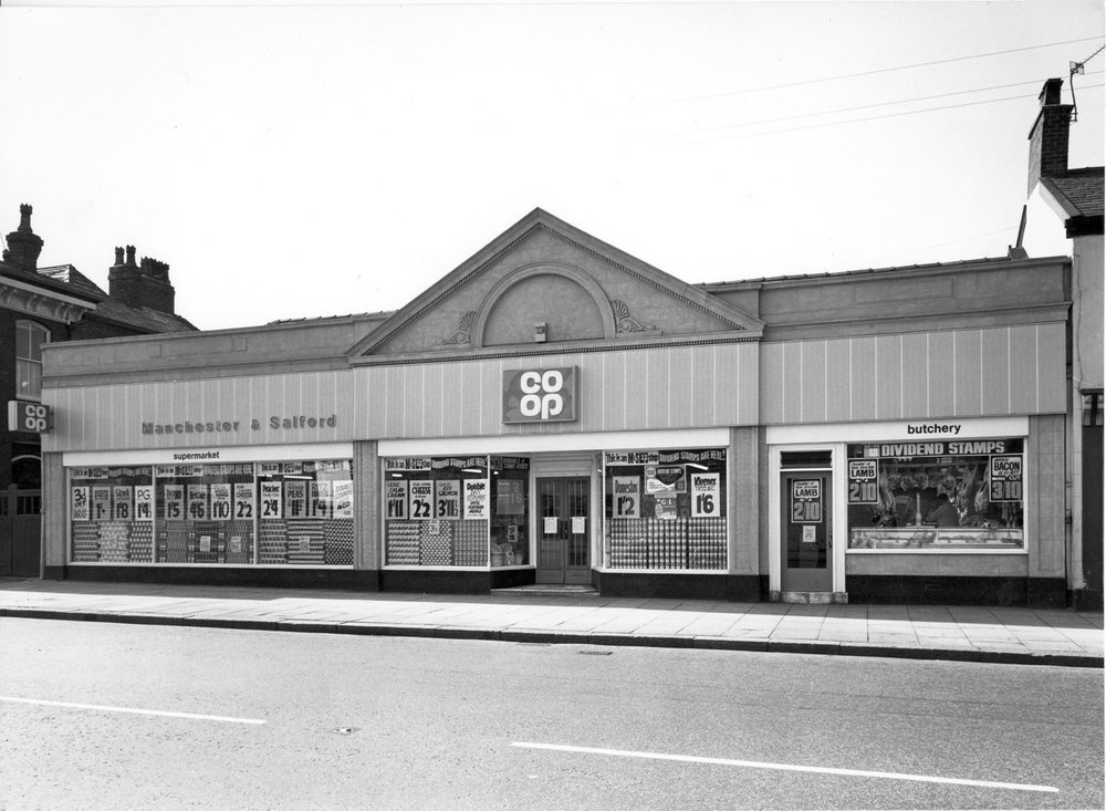 The Manchester and Salford branch of the Co-op, c.1969