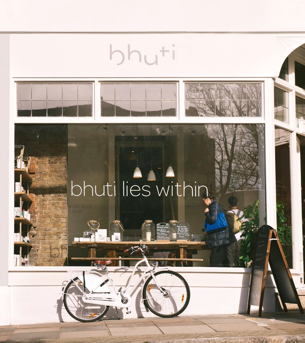 Bhuti- Wellbeing Centre, day spa, yoga studio and vegan cafe
