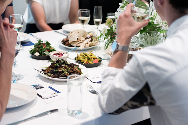 Kit & Ace- Canadian Athleisure brand holds quarterly 'Sunday Suppers'