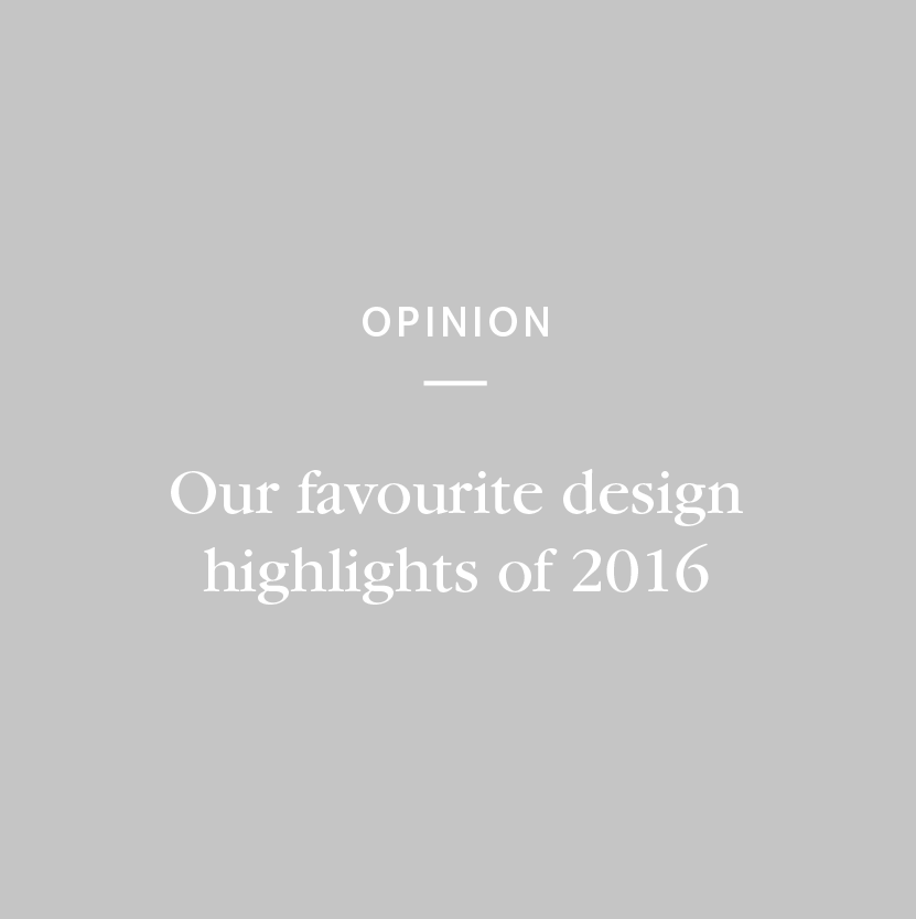 As another year comes to a close, we take a look back at some of this years biggest moments in design.