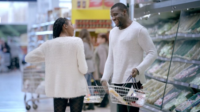 Tesco's Basket dating social experiment