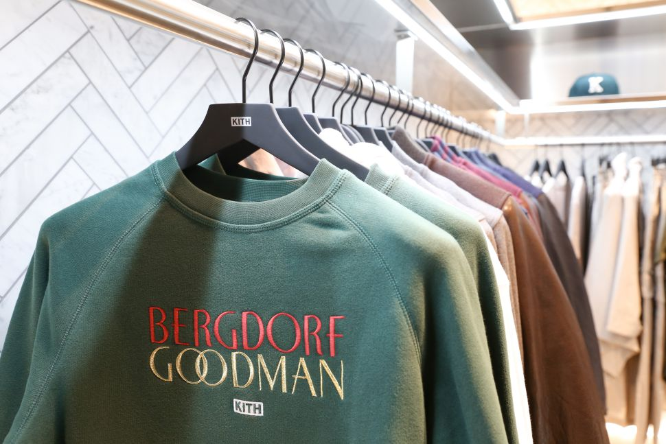 Kith's capsule collection with Bergdorf Goodman