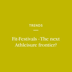 The 'fit-festival'has been gaining momentum in the athleisure market for some time now- with no signs of slowing down.