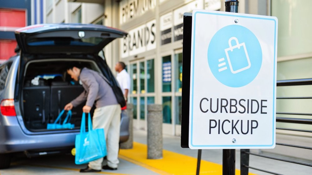 Starbucks -Starbucks is trialling curbside collection via their app