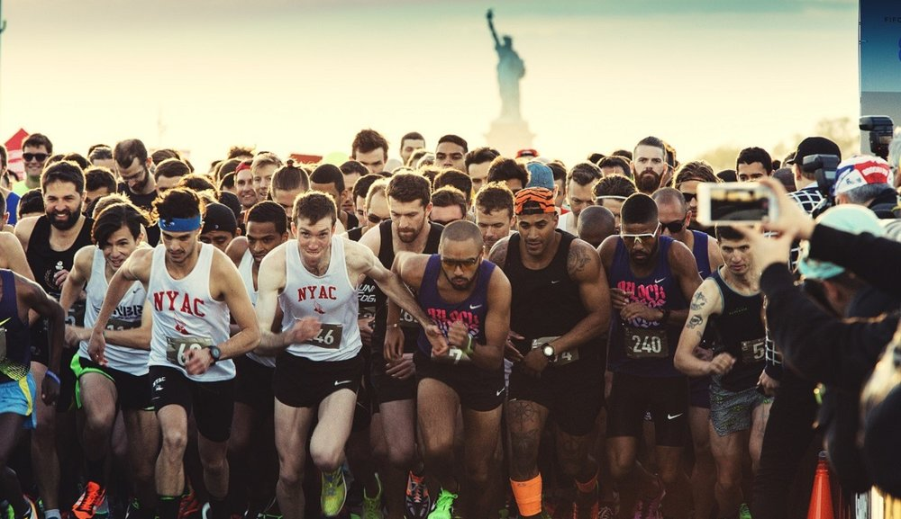 District Vision at the fastest-paced foot race in the world