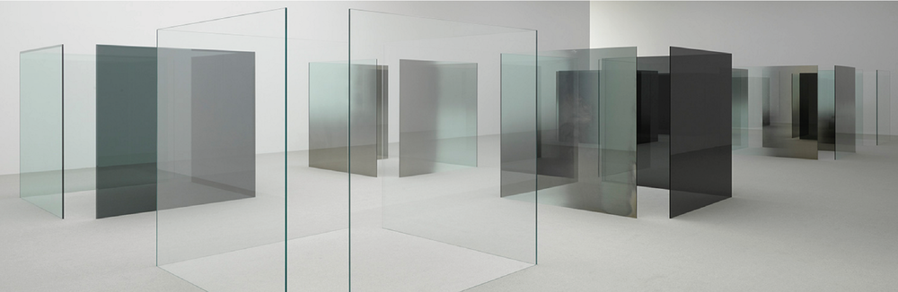 Larry Bell - White Cube Bermondsey Posted by Lauren