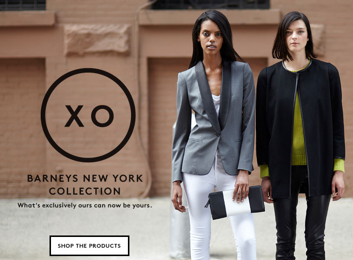 Barneys XO 'Exclusively Ours' brand