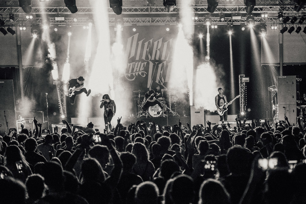 Pierce The Veil & Sleeping With Sirens - InFest Milan 2017