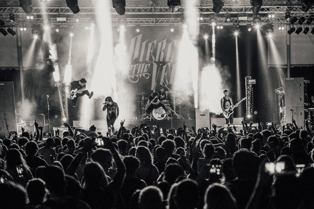 Pierce The Veil & Sleeping With Sirens - InFest Milan 2017