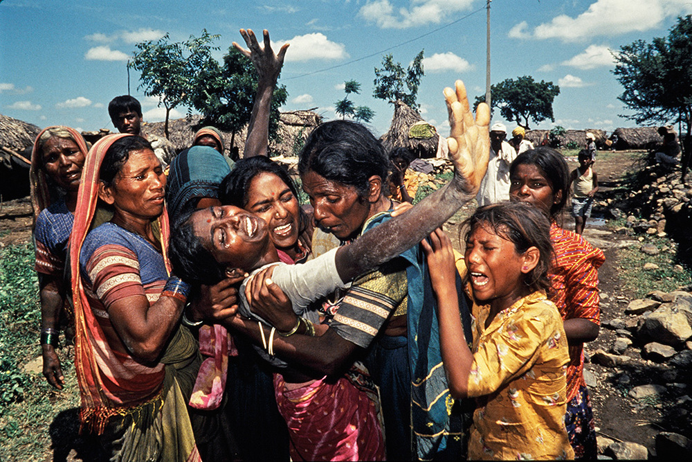 1st Prize Winner World Press Photo 1994. Latur Earthquake.
