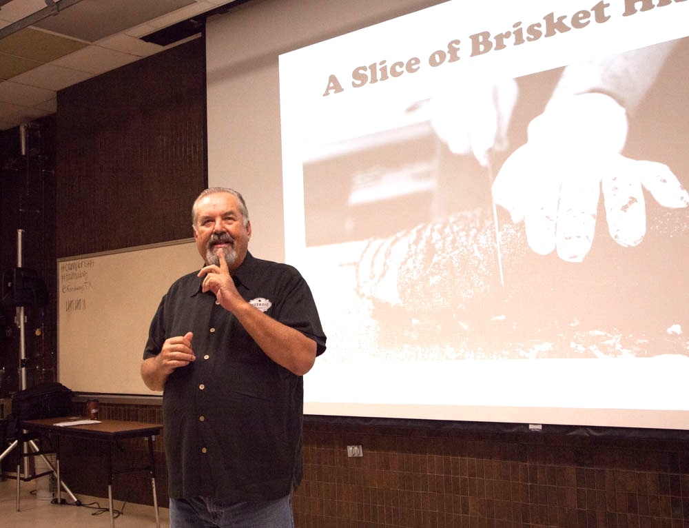 Robb Walsh talking about the history of brisket