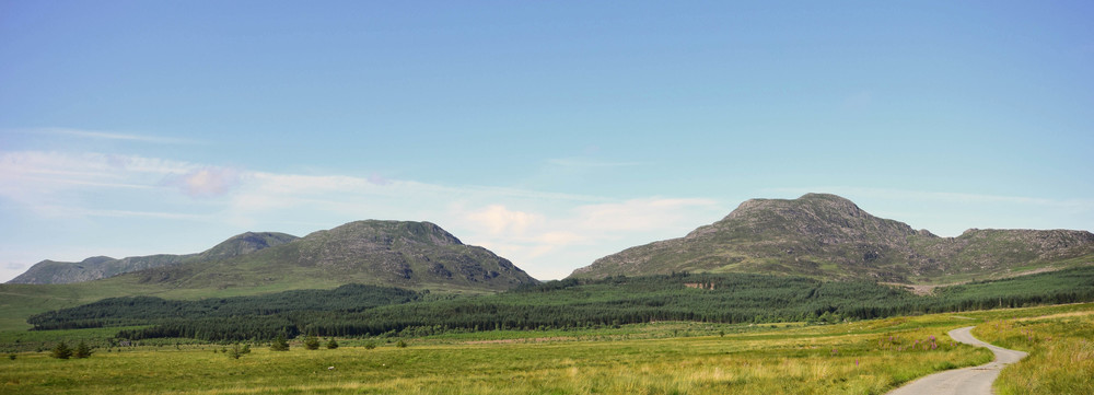 The Rhinogs, North Wales.