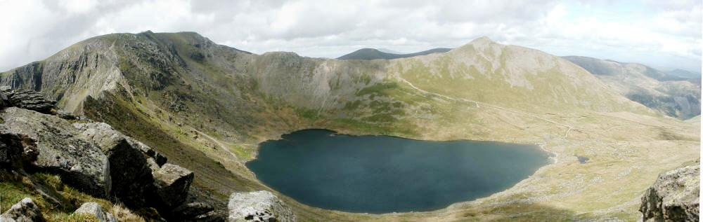 broad chest and skinny arms of helvellyn