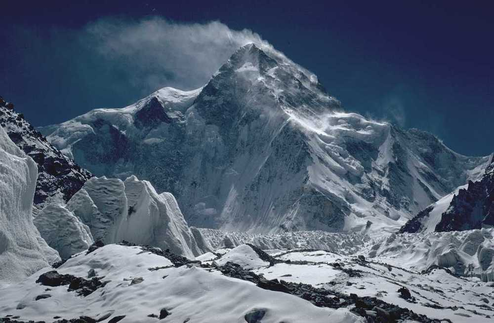 Thanks to WikiPEDIA for the photo of the Northside of K2. Brrrrrr.