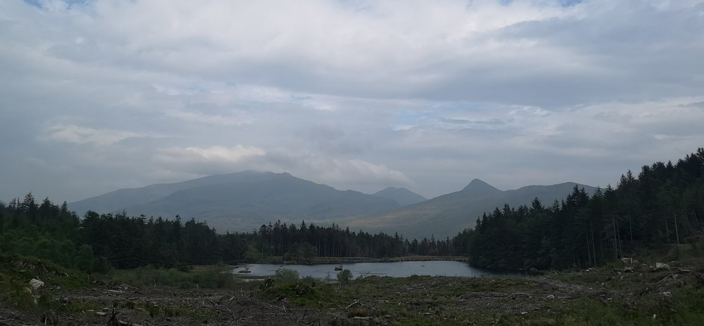 Views to Snowdon and Wildswim spot