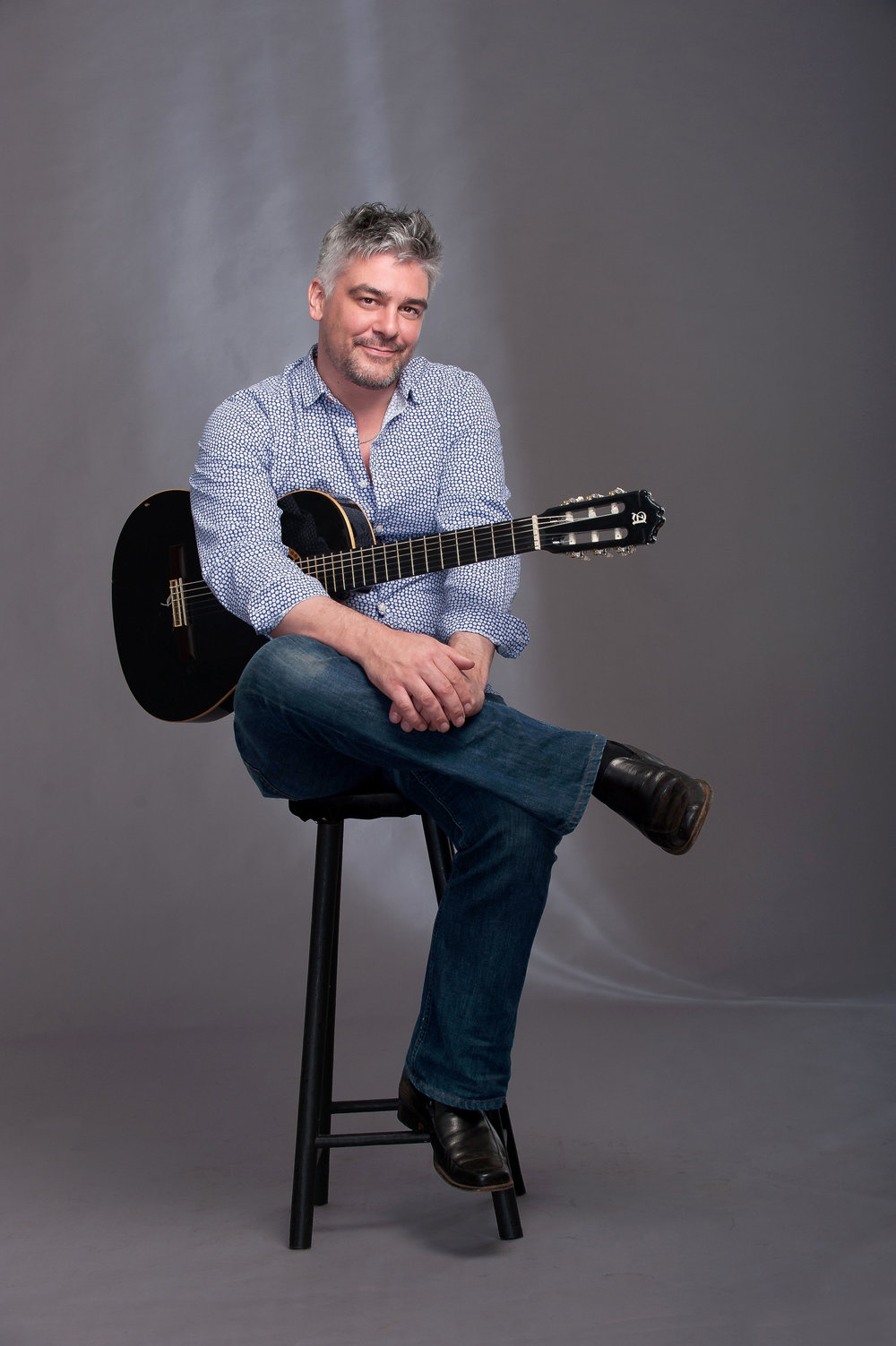 James Grace (guitar) plays JOURNEY TO SPAIN on Friday 26 October at 7:30 pm