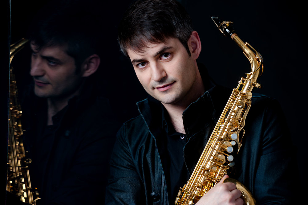 Visiting Spanish musician David Salleras (saxophone) plays FLAMENCO DREAMS Saturday 27 October at 11:30 am.
