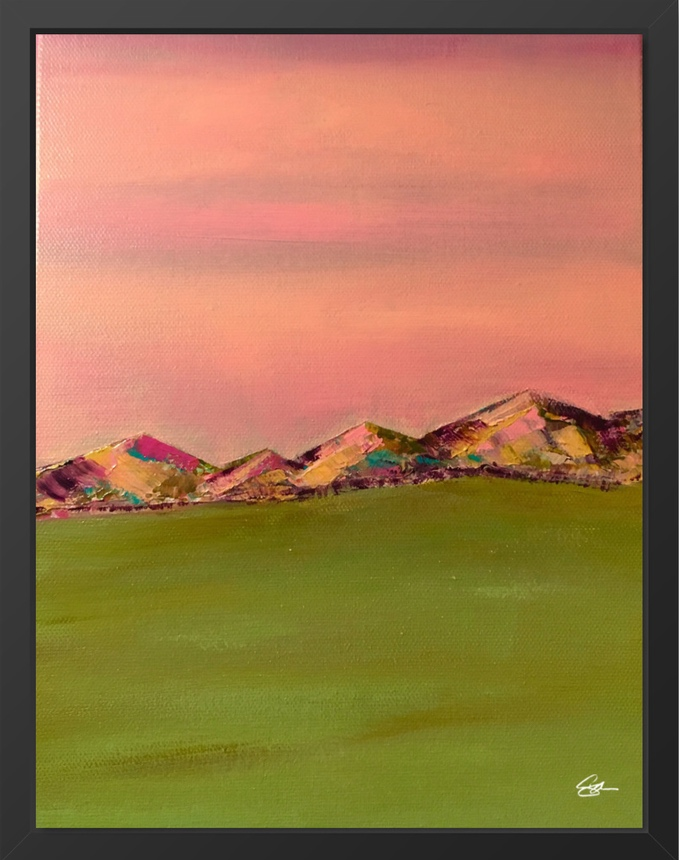 Pink Mountains 2