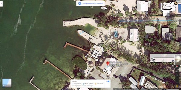 Aerial shot of Snooks Bayside and the coastline. Courtesy of Google Maps