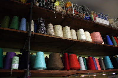 Fabric artist thread spools