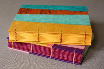 Handmade coptic books