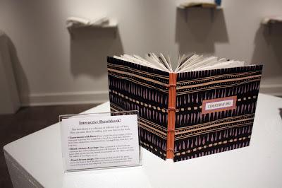 Katie Gonzalez handmade book at Sketchbook Collective