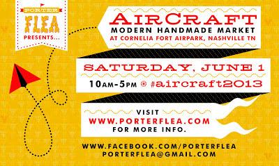 Porter Flea AirCraft art show Nashville