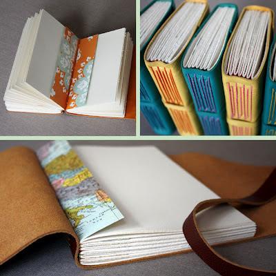 handmade books Nashville linenlaid&felt