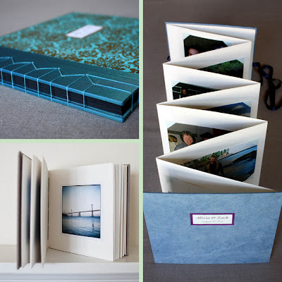 linenlaid&felt photo albums