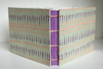screenprinted handmade journal by Katie Gonzalez