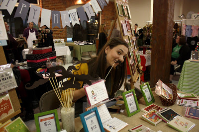 Liddabits at Chatty Crafty art show