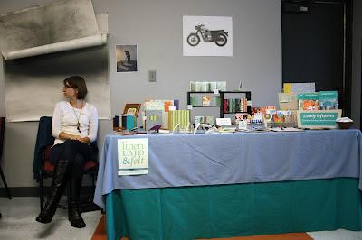 Katie Gonzalez linenlaid&felt handmade books photo