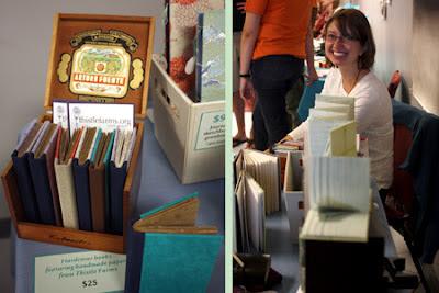 linenlaid&felt handmade books photo