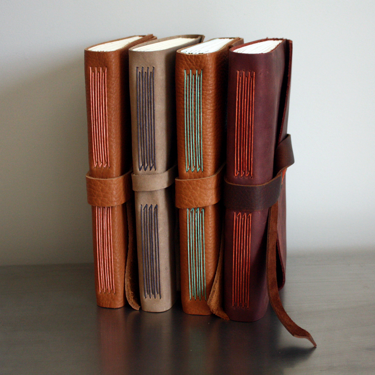 make your own leather journal this saturday linenlaid felt