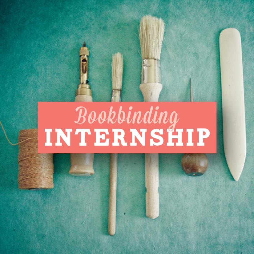 bookbinding internship